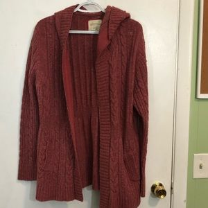 Natural Reflections Cable Knot Cardigan